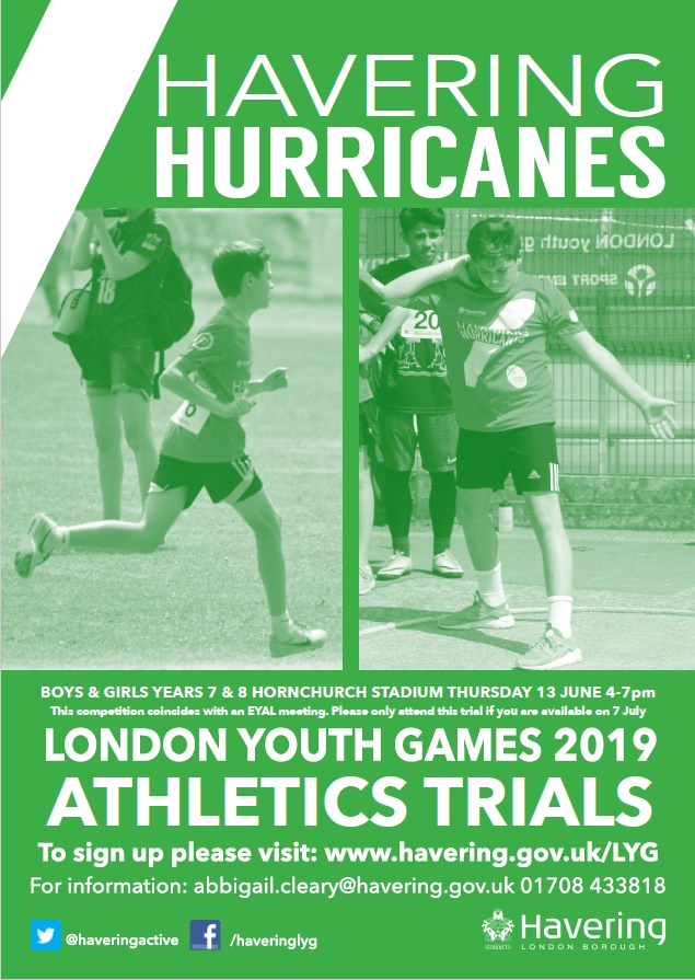 Athletics Poster