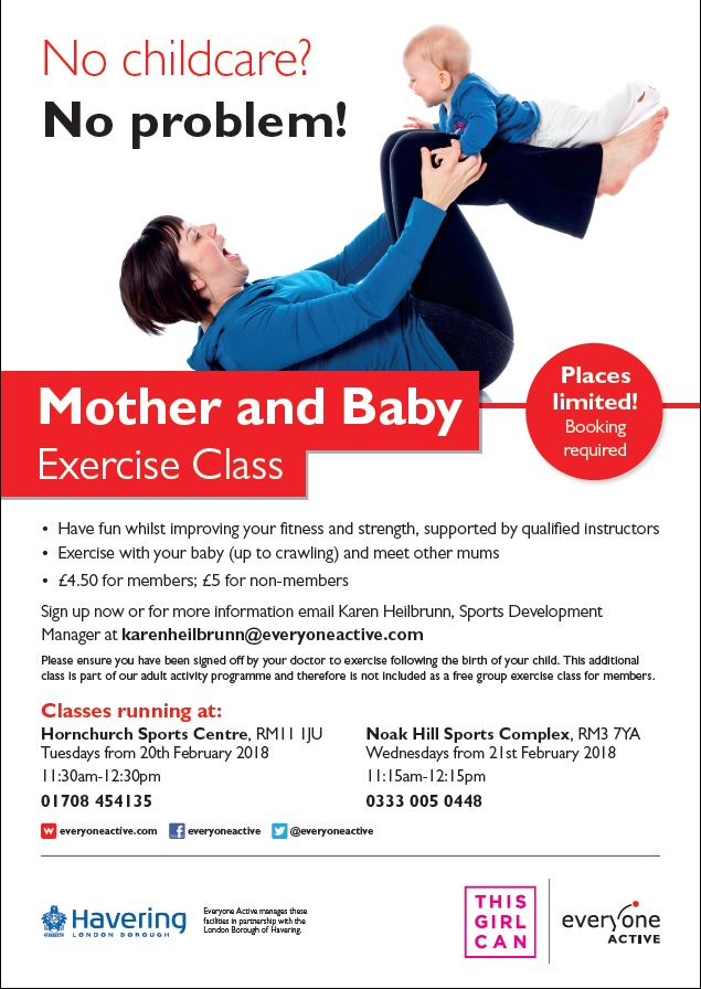 Mother and Baby flyer