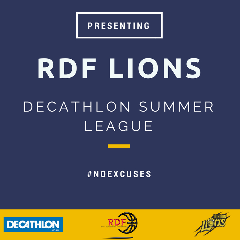 RDF LIONS DECATHLON SUMMER LEAGUE UPDATE