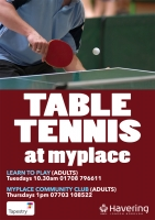 MyPlace Community Table Tennis Club